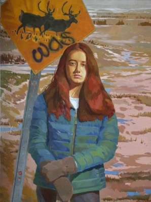 Bob Shackles SCA, ON, Cariboo Crossing, 48x36