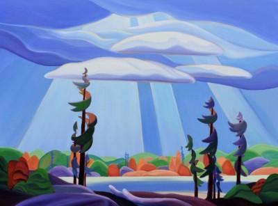 Barbel Smith, Ontario, Acrylic, 26x48