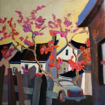 Bill Schwarz, Blossom, Acrylic, 24x24
