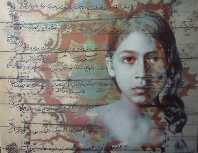Bita Mohabbati, Day Dream, Mixed Media, 39x59