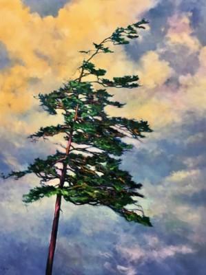 Cathy Boyd, Triumphant, Oil, 48x36