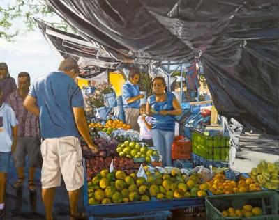 Colleen Dyson, El Feria, Oil, 22x30