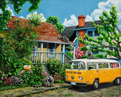 Cory Scott, The Redfern Nursery, Acrylic, 24x30