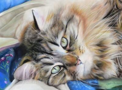 Cynthia Boudreau, Sweet Roxy, Pastel, 11x14