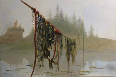 Dale Cook, East Coast Sea Laundry, Oil