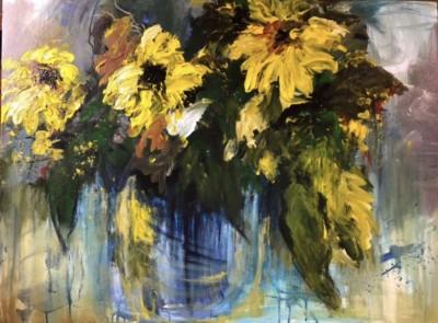 Denise Lini, Wild Thang, Acrylic, 30x40