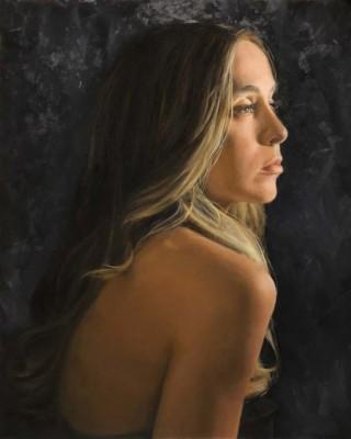 Dina Mastantuono, Gabriella, Oil, 20x16
