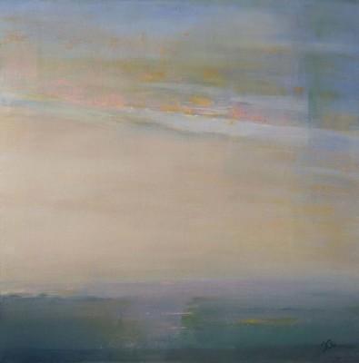 Frances Obie, Dreamscape, Pastel, 24x24