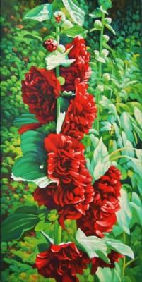 Gary Whitley, Spring Burst, Oil, 12x12