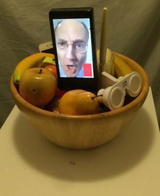 Glen Farley, Still Life,Kinetic Interactive Sculpture, 47x14x23