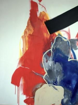 Hyun Ryoung Kim, Relation 41, Acrylic, 48x36
