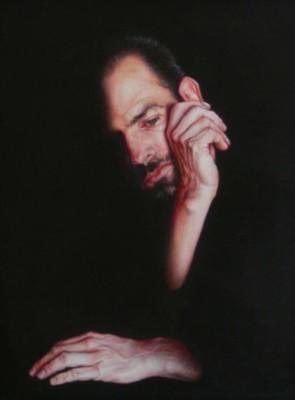 Jesse Gledhill, Shackled, Acrylic, 20x16