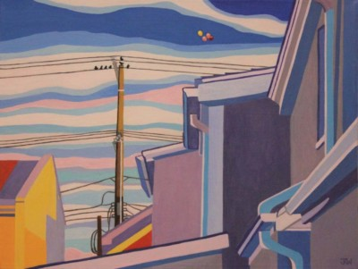 Jodi Kitto-Ward, Celebration, Acrylic, 12x16