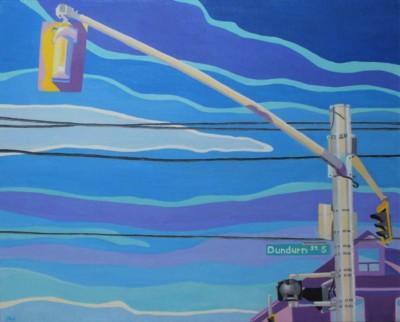 Jodi Kitto-Ward, Traffic Ballet, Acrylic, 16x20