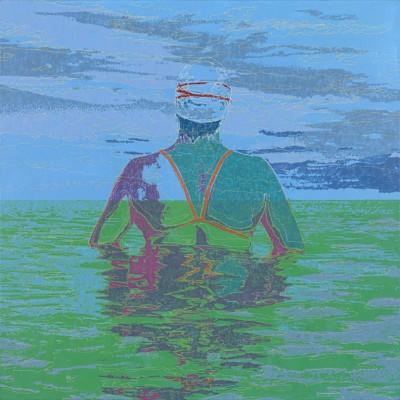 Karen Landrigan, Rising, Acrylic, 36x48