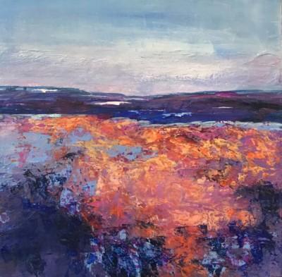 Kathryn Mayerson, Twilight, Acrylic, 12x12