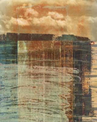 Liz Ruest, Something Hidden, Digital collage, 30x24