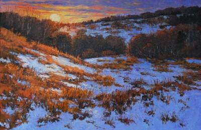 Maria Iva, Sunset Glow, Oil, 24x36