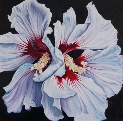 Monica Orrling, My Mothers Garden 12, Oil 36x36