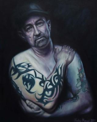 Nadine Manuel, Paul, Oil, 24x30