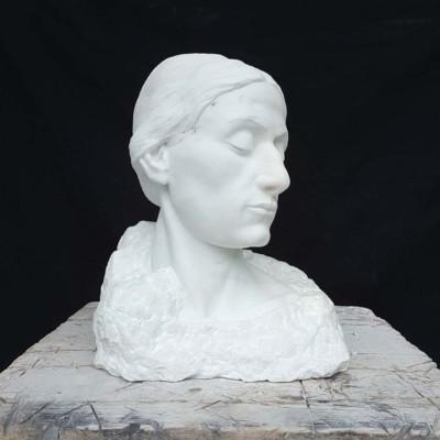 NicholasThompson, Bella Donna, Marble, 15x13x12