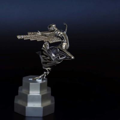 Nick Koss, Flight of Ecstasy, Gold  Diamonds, 3x2.5x4.4