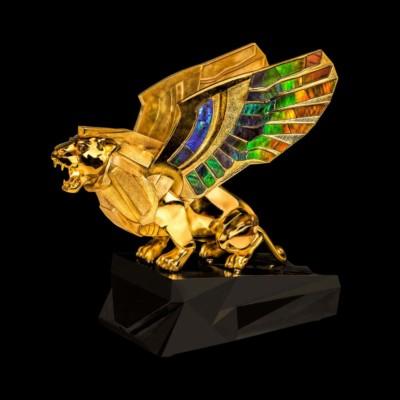 Nick Koss, Golden Gryphon, Silver, Bronze, Gems, 9x8x4