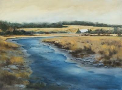 Pauline Boudreau, Bishopton, Oil, -22x30