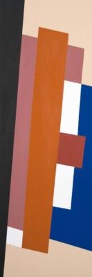 Roger Sutcliffe, TonedDown, Acrylic, 36x12