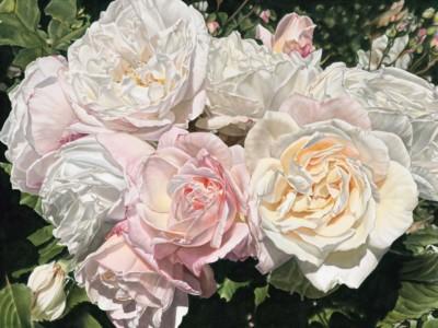 Sandy Terry, Rococo, Acrylic, 36x48