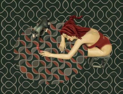 Shu Yu, Temptation of Summer, Digital, 36x47