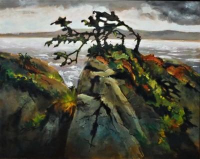 Tom Shardlow, Ucluelet III, Acrylic, 16x20